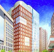 a-building