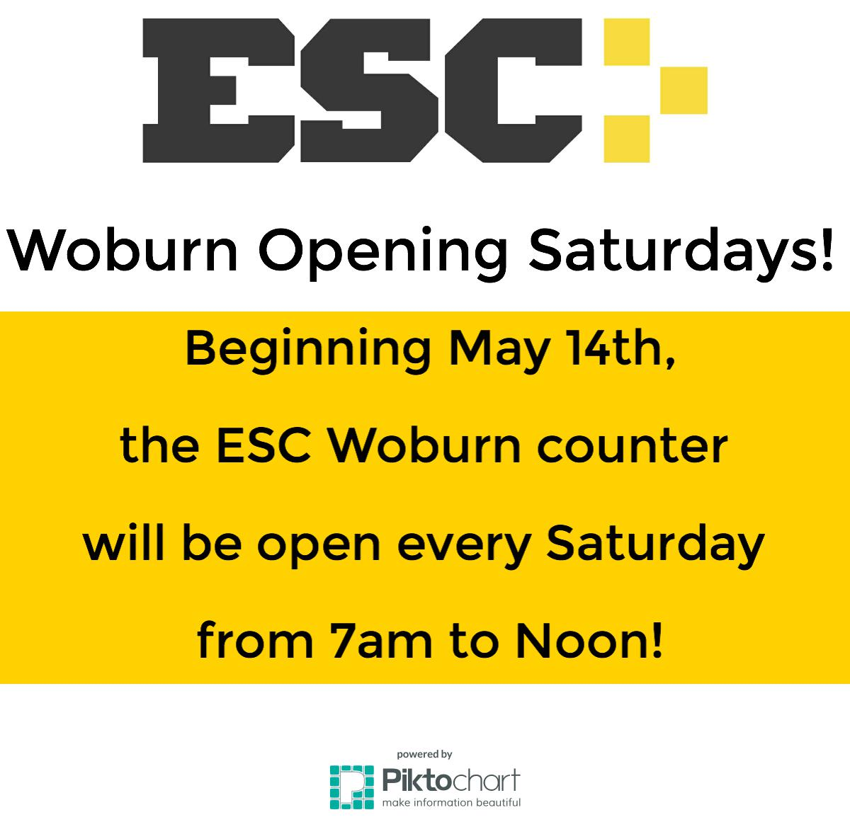 Esc Woburn Open On Saturdays Electric Supply Center Esc