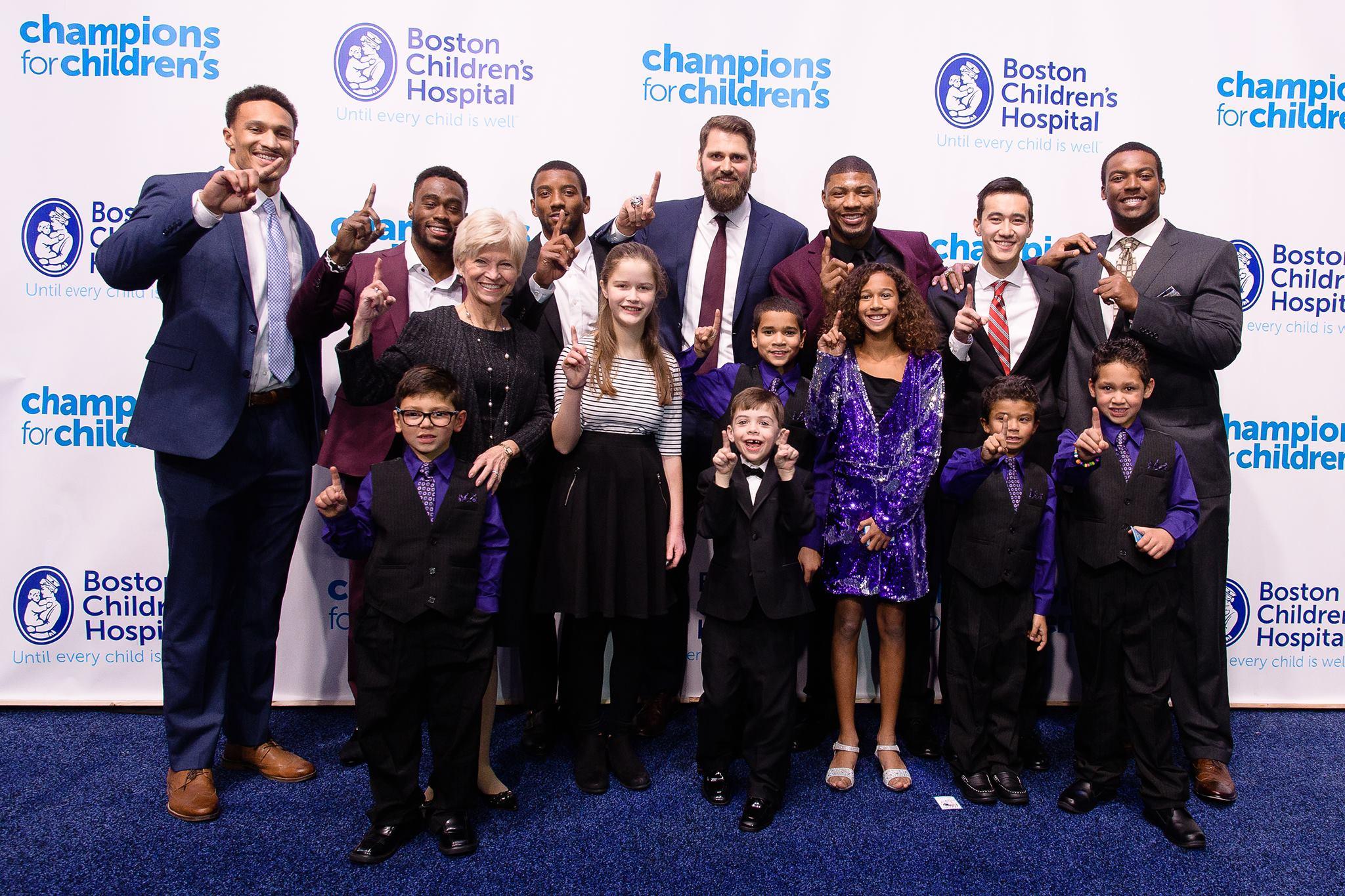 ESC fundraiser at Boston Children's Hospital